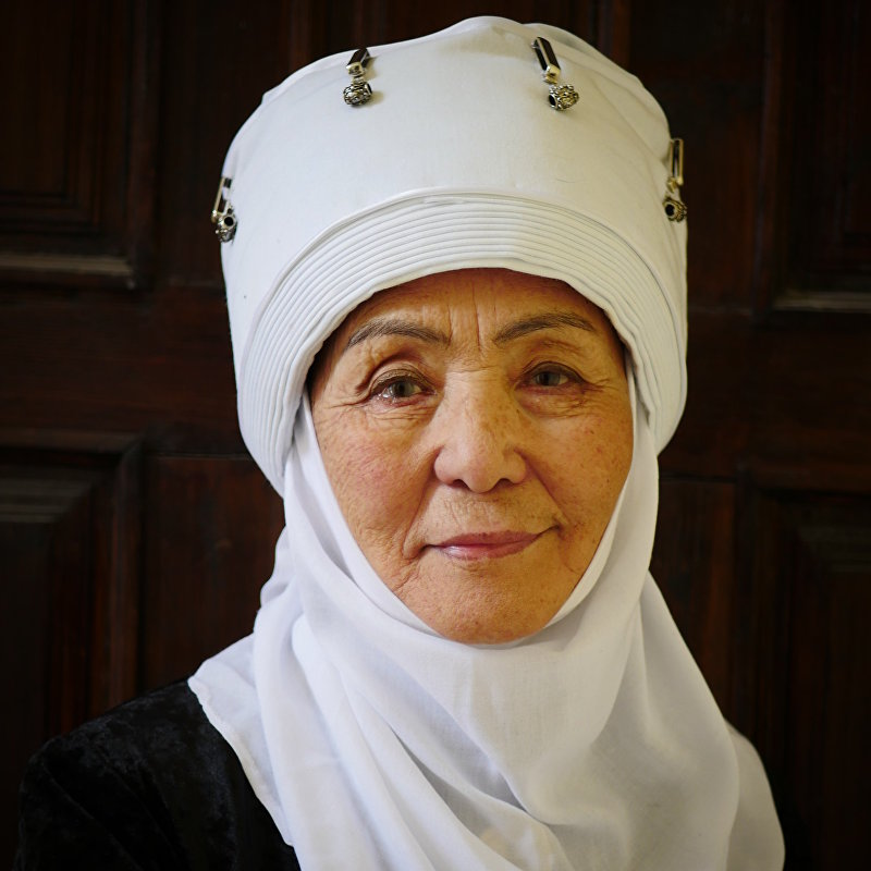 Актриса театра и кино Джамал Сейдакматова