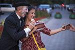 Фестиваль уличных театров в Бишкеке. Архивное фото
