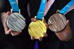 Презентация медалей зимней Олимпиады 2018 года в Пхенчхане