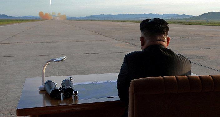 Түштүк Кореянын лидери Ким Чен Ын. Архивдик сүрөт
