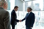 Президент Кыргызстана Алмазбек Атамбаев в рамках рабочего визита в Нью-Йорк встретился с учредителями Американо-кыргызского делового совета и представителями крупнейших американских компаний