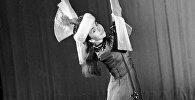 СССРдин эл артисти, атактуу балерина Айсулуу Токомбаеванын архивдик сүрөтү