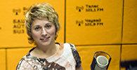 Представитель Кемеровского государственного университета Анна Серафимович