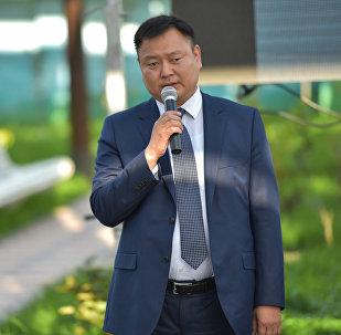 Презентация гелиоколлекторов  на территории КП Бишкектеплоэнерго в Бишкеке