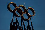 Кольца олимпиады. Архивное фото