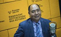 Президент сообщества Кыргыз тили Раимжан Курбанов