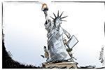 Скрываясь за огнем Свободы