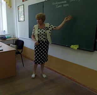 Кыргыз тилчи Людмила Войтышина: мага орус тилинен сабак берүү татаал