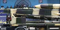 Ирандын баллистикалык ракетасы. Архивдик сүрөт