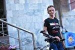 Первая Железная Женщина из Кыргызстана Юлия Фернас, которая финишировала на IronMan 140.6 в Копенгагене