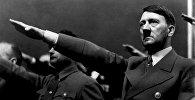 Нацисттик Германиянын башчысы, фашизмдин ана башы Адольф Гитлердин архивдик сүрөтү