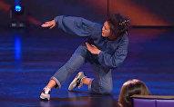 Участница шоу Ты супер! Танцы от КР Айдана Шатемирова