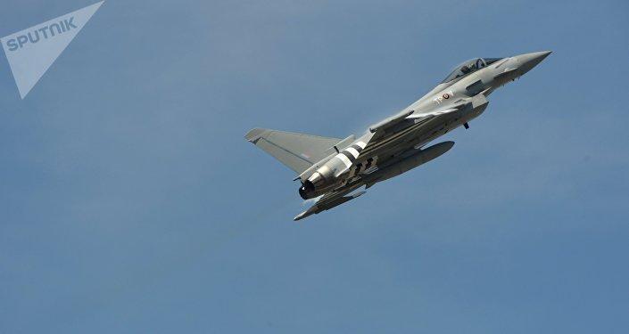 Eurofighter Typhoon учагы. Архив