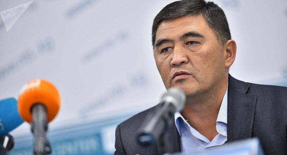 Новый глава ГКНБ Камчыбек Ташиев. Архивное фото