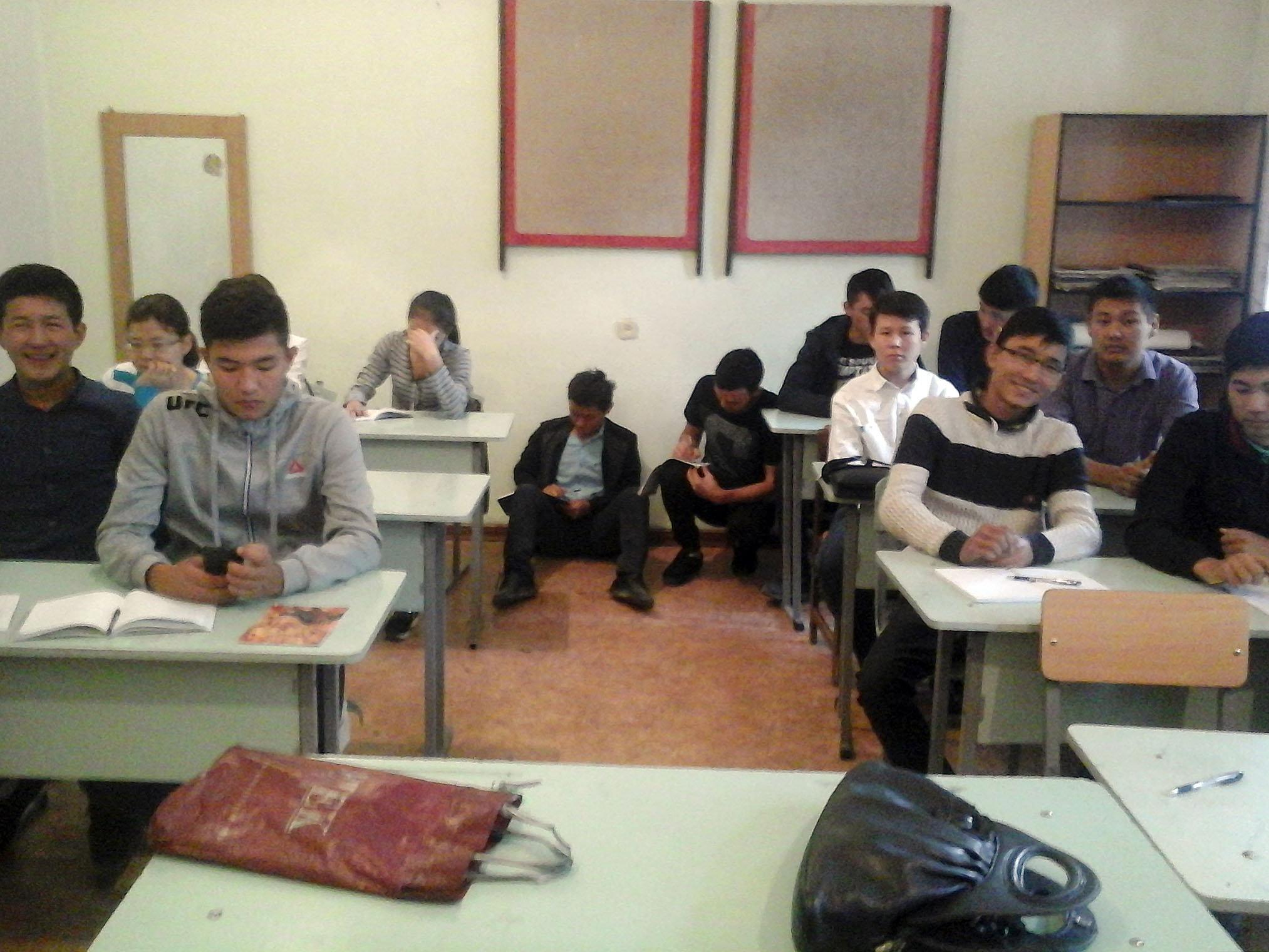 Обучение в Кыргызском государственном музыкальном училище