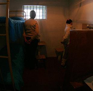 Заключенные в своей камере в женской колонии. Архивное фото
