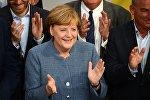 Германиянын канцлери Ангела Меркельдин архивдик сүрөтү