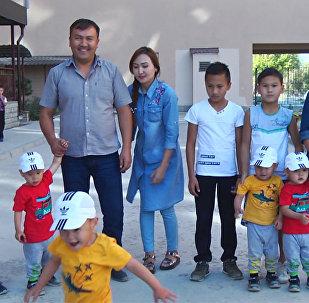 Четверняшкам из Бишкека уже по 2,5 года. Вы их помните?