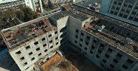 Сгоревшее здание Генпрокуратуры в Бишкеке — кадры изнутри и сверху