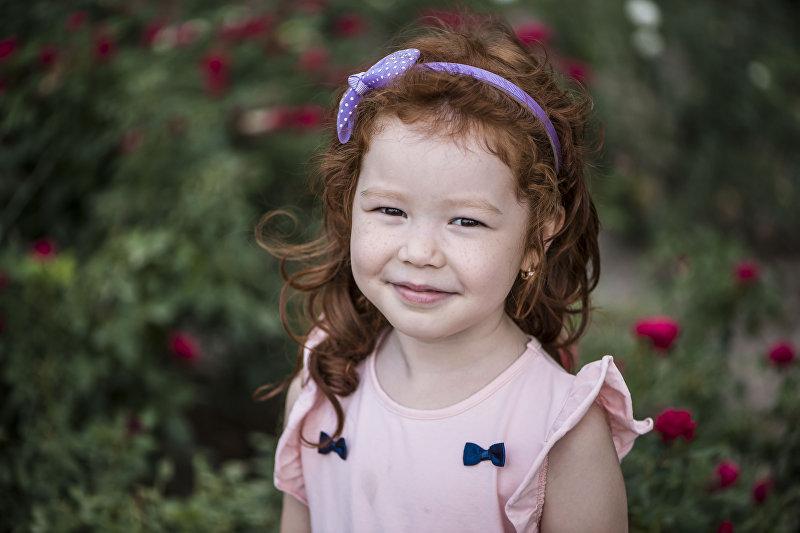 Бишкекчанка Алия Омурова, 5 лет