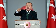 Архивное фото президента Турции Реджеп Тайип Эрдогана