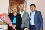 Бишкек шаарынын Свердлов райондук администрациясы 50, 55, 60 жана андан көп жыл бирге жашаган түгөйлөрдү куттуктады