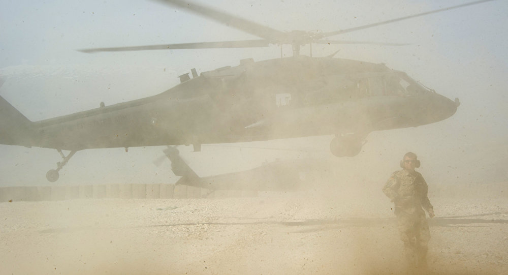 Афганистандагы америкалык учак. Архивдик сүрөт