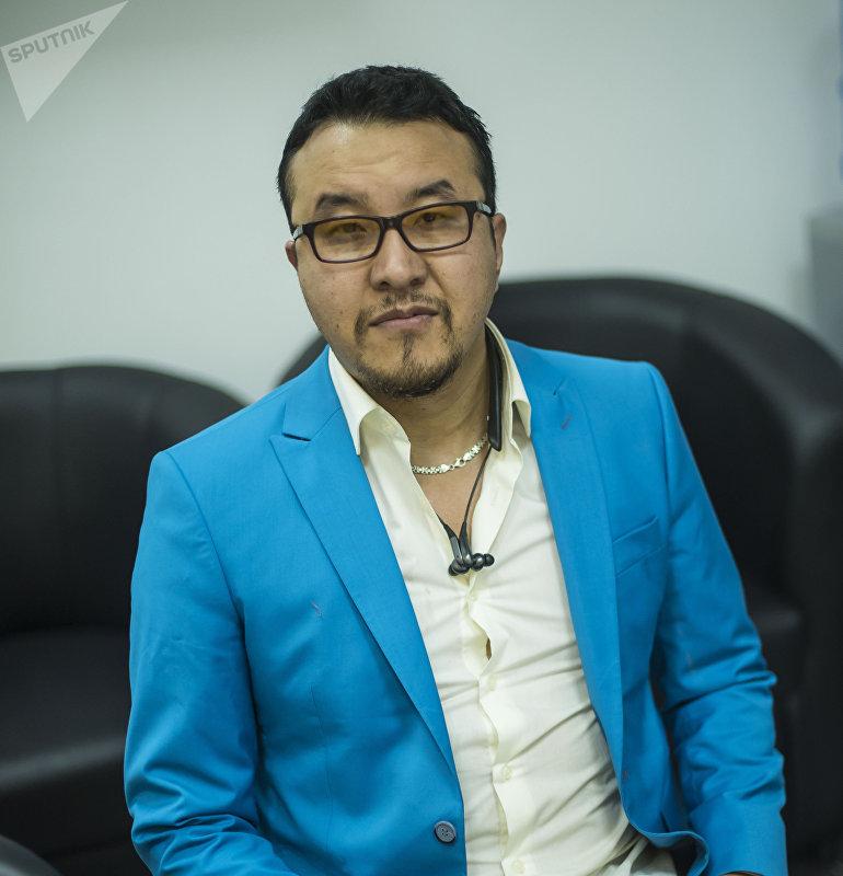 Предприниматель, работающий в Москве Азамат Адылгазиев
