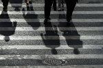 Пешеходы. Архивное фото