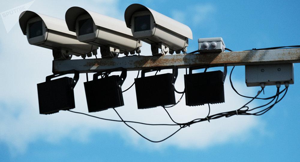 Камеры фиксации нарушения ПДД. Архивное фото