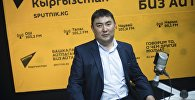Председатель Кыргызского общества слепых и глухих Марат Ташбаев
