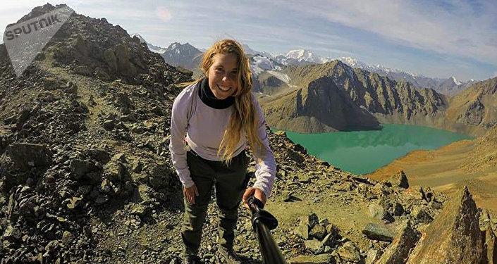 Архивное фото пропавшей в Кыргызстане туристки из Тель-Авива 22-летней Хиллы Ливне