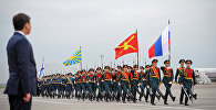 Премьер-министр Кыргызской Республики Сапар Исаков в Российской Федерации. Архивное фото