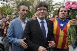 Каталония өкмөтүнүн башчысы Карлес Пучдемон