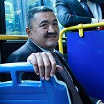 Мэрия города Урумчи подарила Бишкеку 10 автобусов, работающих на газе