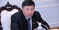 Архивное фото депутата ЖК 6-го созыва Канатбека Исаева от партии Кыргызстан.