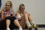 Женщины, которые были на фестивале Harve Festival Route в Лас-Вегасе. Архивное фото