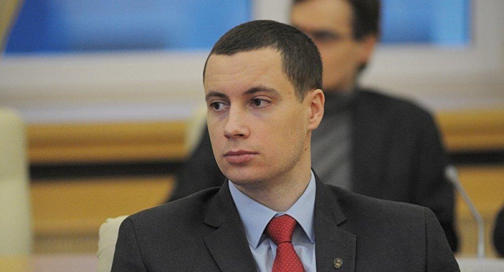 Эксперт по проблемам Центральной Азии РИСИ Дмитрий Попов во время конференции. Архивное фото
