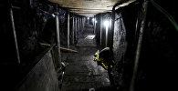 Туннель длиной 600 метров, который был прорыт злоумышленниками в попытке ограбить центральный банк Бразилии. Сан-Паулу, 3 октября 2017 года