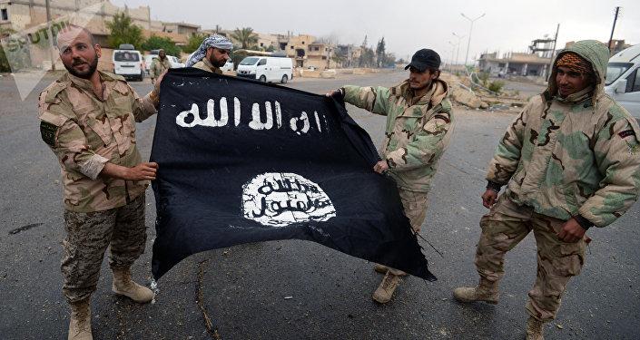 Ислам мамлекитинин желеги. Архивдик сүрөт