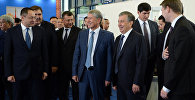В рамках государственного визита президента Кыргызстана Алмазбека Атамбаева в Узбекистан состоялась его встреча с главой РУз Шавкатом Мирзиёевым в узком составе.