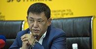 Бишкек шаарынын турак жай-коммуналдык чарба боюнча мэринин орун басары Алимбек Абдылдаев. Архивдик сүрөт