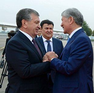 Государственный визит Алмазбека Атамбаева в Узбекистане