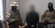 Все было хорошо, пока… — видео задержания подполковника со взяткой в КР