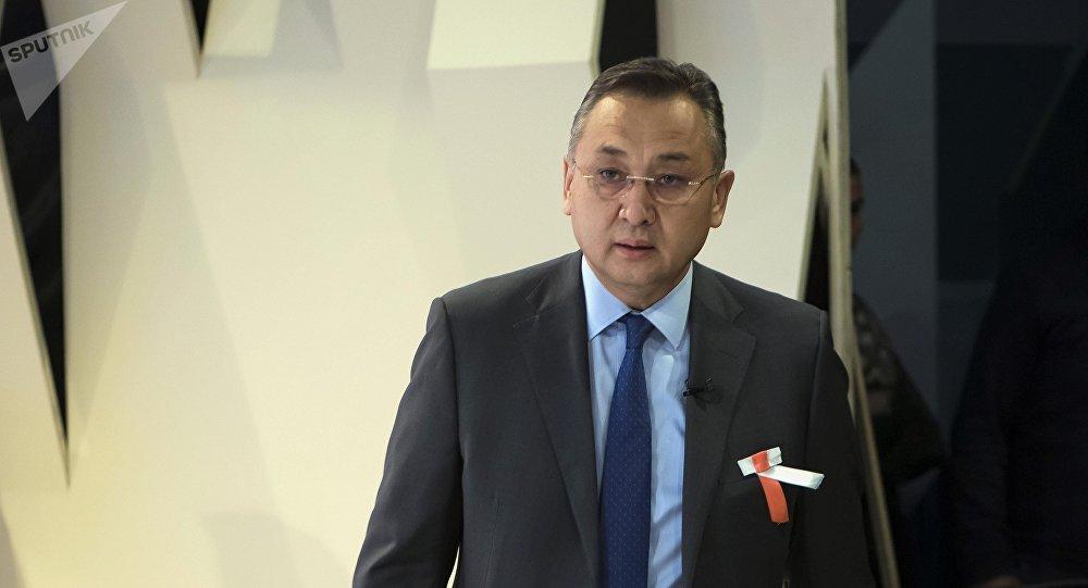 Международный эксперт по вопросам безопасности Таалат Масадыков. Архивное фото
