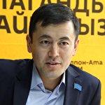 Председатель фонда развития религиозной культуры Ыйман Нуржигит Кадырбеков во время интервью ИА Sputnik Кыргызстан