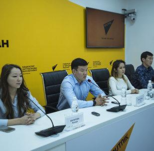 Пресс-конференция Массовый легкоатлетический забег в Бишкеке Мол булак куз деми — 2017