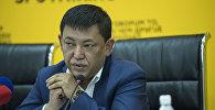 Бишкек шаарынын мэринин турак жай-коммуналдык чарба боюнча кеңешчиси, вице-мэр Алимбек Абдылдаев. Архивдик сүрөт
