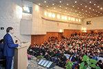 Премьер-министр Сапар Исаков Нарын облусуна жасаган сапары