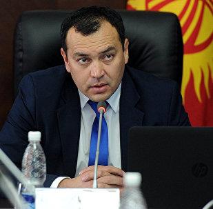 Архивное фото вице-премьер-министра Кыргызстана Темира Джумакадырова